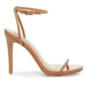 Steve Madden nude strap heels